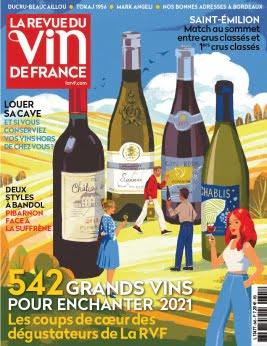 La Revue des Vins de France N°645 Novembre 2020