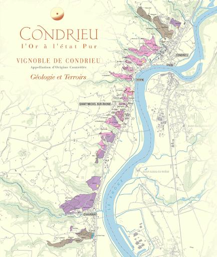 carte geol condrieu